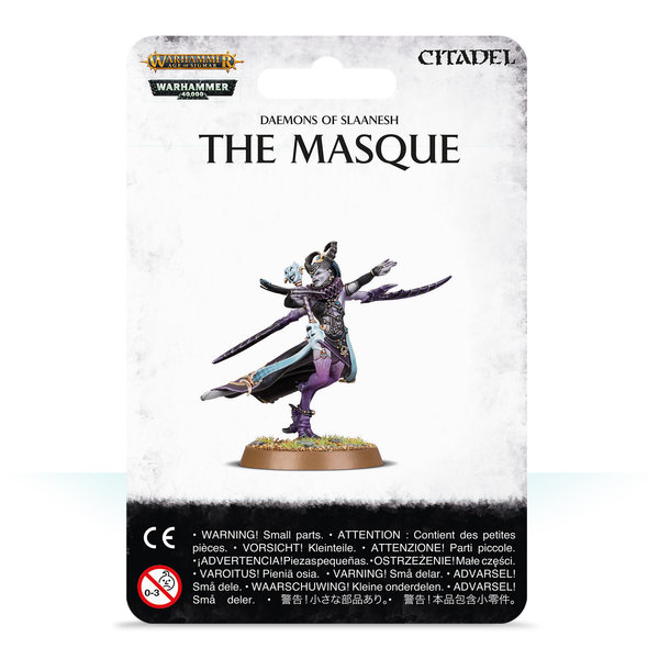DAEMONS OF SLAANESH THE MASQUE 2019