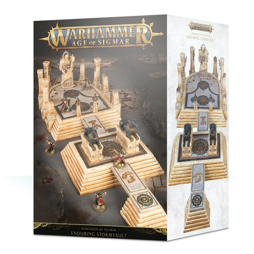 DOMINION OF SIGMAR THE ENDURING STORMVAULT (ADD $3 S&H APPLIES)