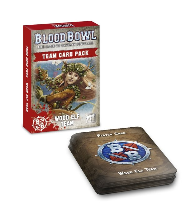 BLOOD BOWL WOOD ELVES CARD PACK