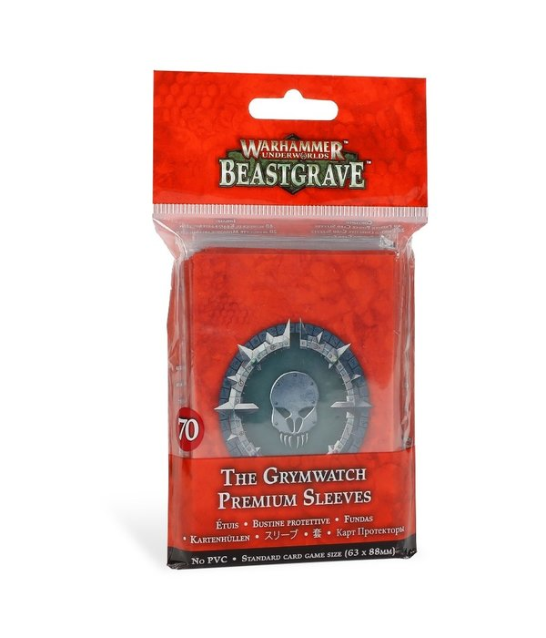 WARHAMMER UNDERWORLDS THE GRYMWATCH PREMIUM SLEEVES