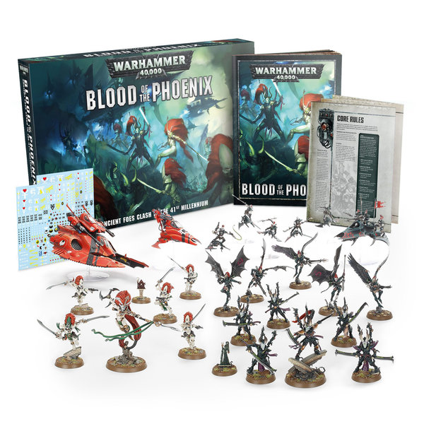WH 40K BLOOD OF THE PHOENIX (ADD $4 S&H)