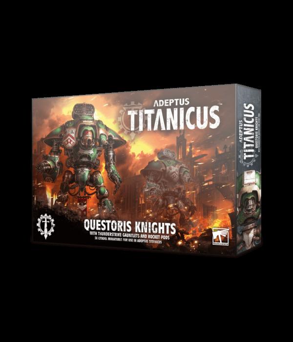 ADEPTUS TITANICUS QUESTORIS KNIGHTS UPGRADE PACK (SPECIAL ORDER)