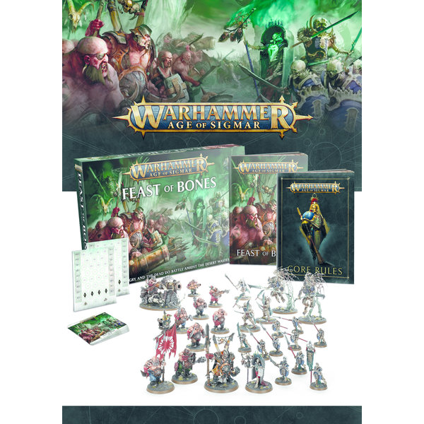 AGE OF SIGMAR FEAST OF BONES (ADD $4 S&H)