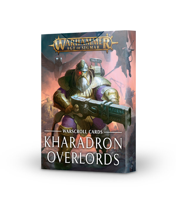 WARSCROLLS KHARADRON OVERLORDS 2020