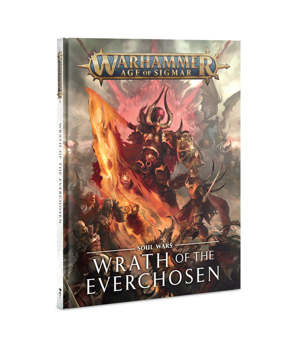 AGE OF SIGMAR SOUL WARS WRATH OF THE EVERCHOSEN