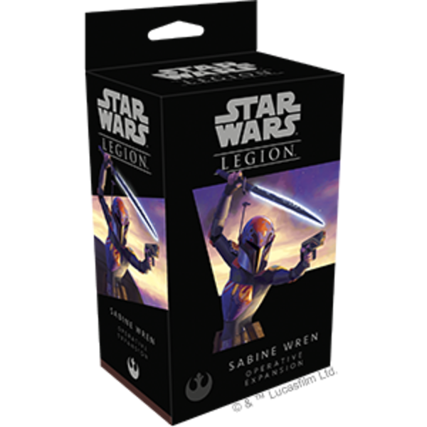 Star Wars Legion  Sabine Wren Operative Expansion