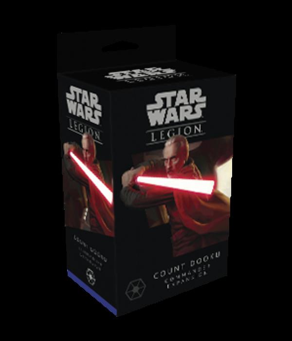 Star Wars Legion Count Dooku Commander Expansion