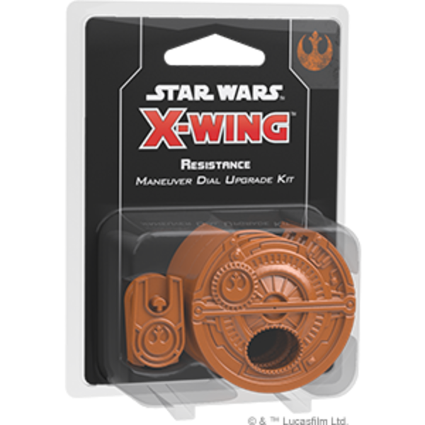Star Wars X-Wing 2nd Edition Resistance Maneuver Dial Upgrade Kit