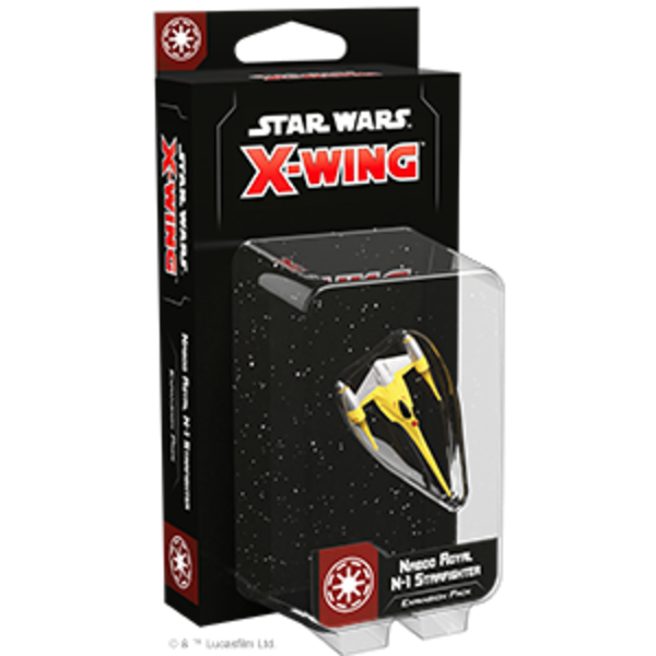 Star Wars X-Wing 2nd Edition Naboo Royal N-1 Starfighter