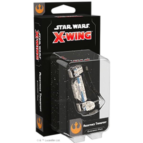Star Wars X-Wing 2nd Edition Resistance Transport