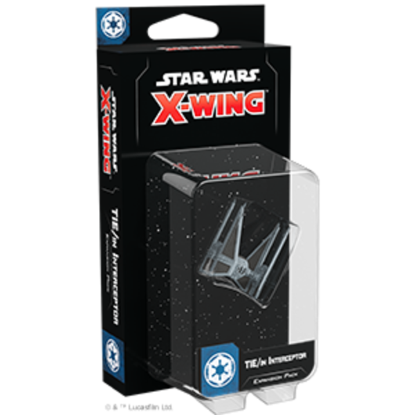 Star Wars X-Wing 2nd Edition TIE  / in Interceptor Expansion Pack