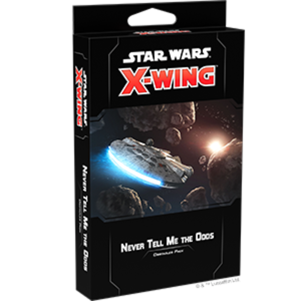 Star Wars X-Wing 2nd Edition Never Tell Me the Odds Obstacles Pack