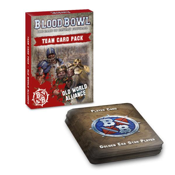 BLOOD BOWL OLD WORLD ALLIANCE TEAM CARD PACK