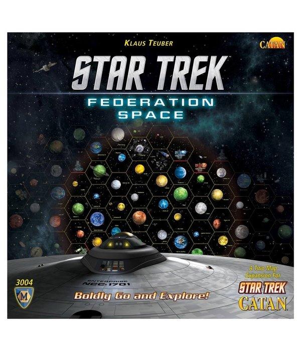 Star Trek Catan Federation Space Map Set
