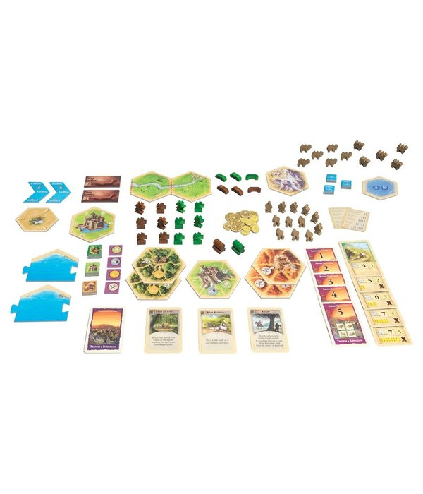 CATAN Traders and Barbarians 5 AND 6 Player Expansion