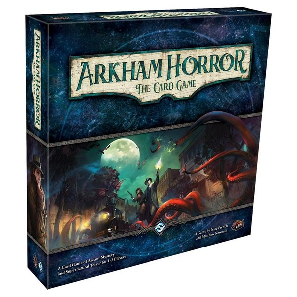 ARKHAM HORROR THE CARD GAME REVISED CORE SET LCG