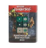 WARCRY HARBINGERS OF DESTRUCTION DICE
