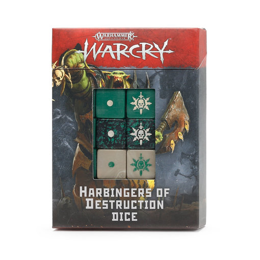 WARCRY HARBINGERS OF DESTRUCTION DICE