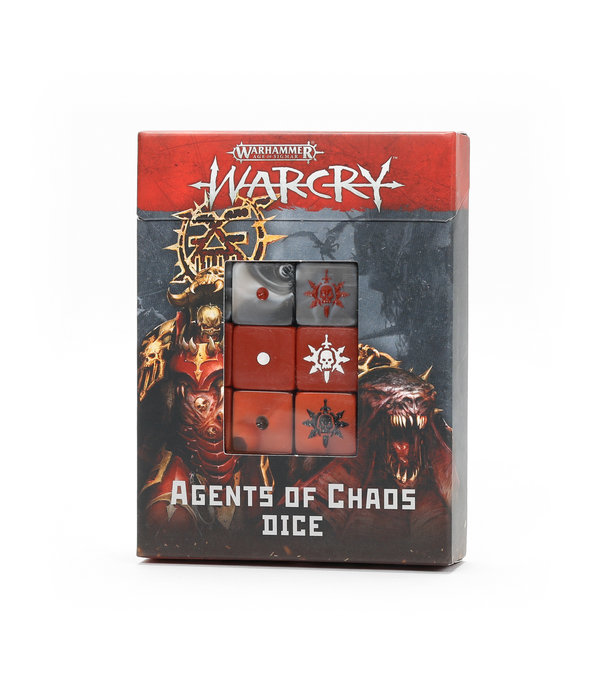 WARCRY AGENTS OF CHAOS DICE