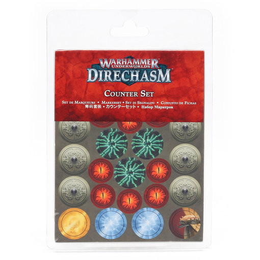 WARHAMMER UNDERWORLDS DIRECHASM COUNTER SET