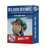 BLOOD BOWL DWARF TEAM CARD PACK