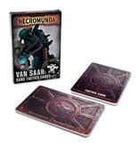 NECROMUNDA VAN SAAR GANG TACTICS CARDS