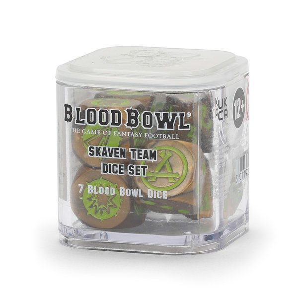 BLOOD BOWL SKAVEN TEAM DICE SET