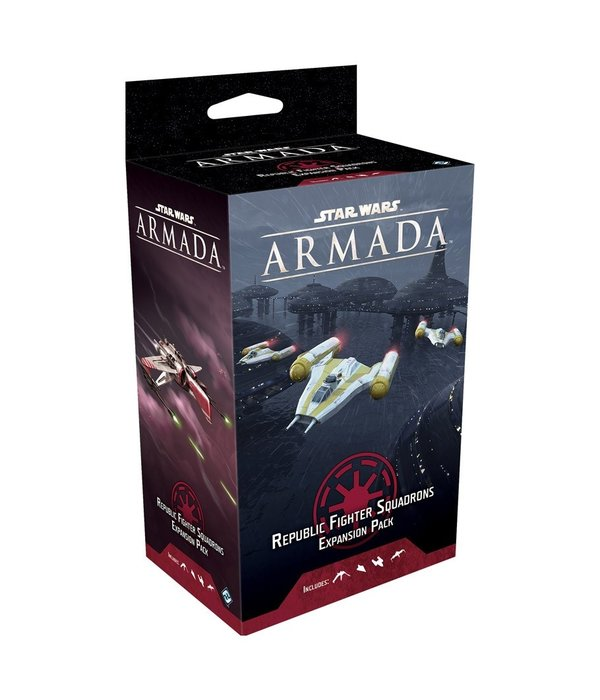 Star Wars Armada Galactic Republic Fighter Squad Pack 2020