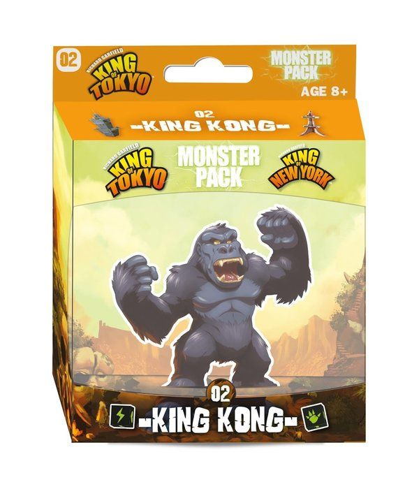 King of Tokyo   MONSTER PACK 2 KING KONG