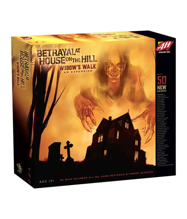 BETRAYAL AT HOUSE ON THE HILL WIDOW WALK EXPANSION