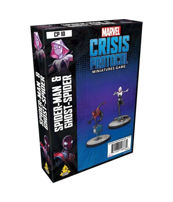 Marvel Crisis Protocol Miles Morales Spider-Man & Ghost-Spider