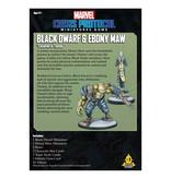 Marvel Crisis Protocol BLACK DWARF and EBONY MAW