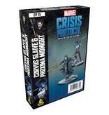 Marvel Crisis Protocol Corvus Glaive and Proxima Midnight