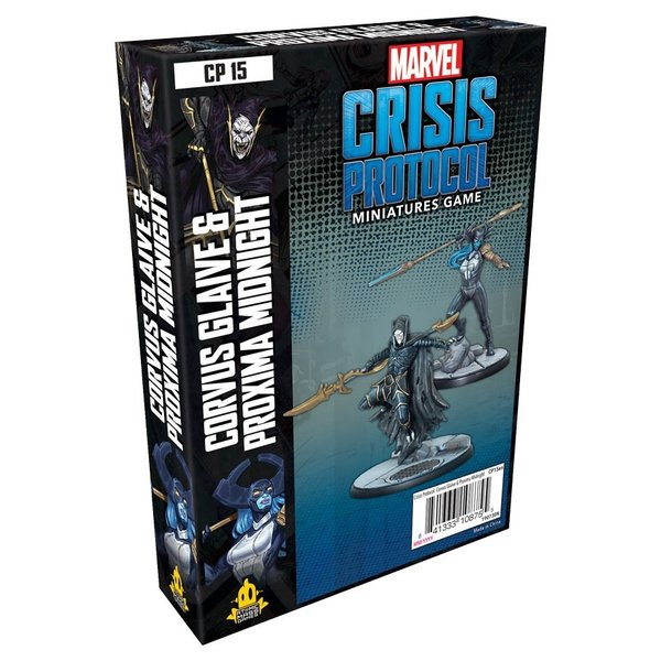 Marvel Crisis Protocol Corvus Glaive and Proxima Midnight