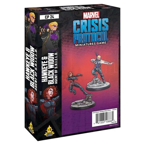 Marvel Crisis Protocol Hawkeye & Black Widow
