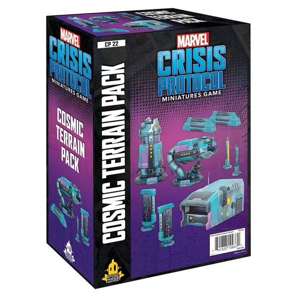 Marvel Crisis Protocol Cosmic Terrain Expansion