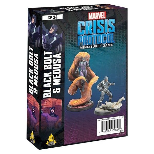 Marvel Crisis Protocol Black Bolt and Medusa Pack