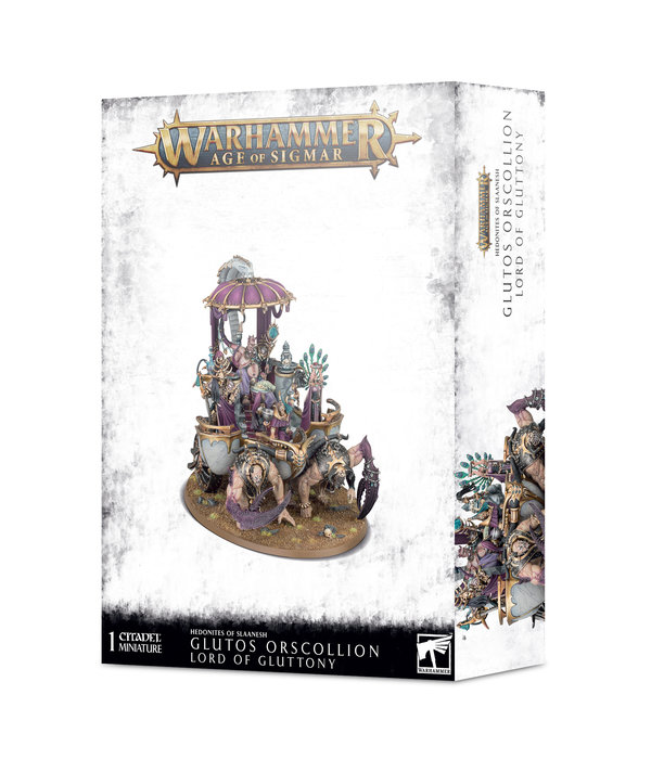 HEDONITES OF SLAANESH GLUTOS ORSCOLLION LORD OF GLUTTONY