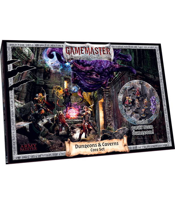 Army Painter GameMaster Dungeons and Caverns Core Set