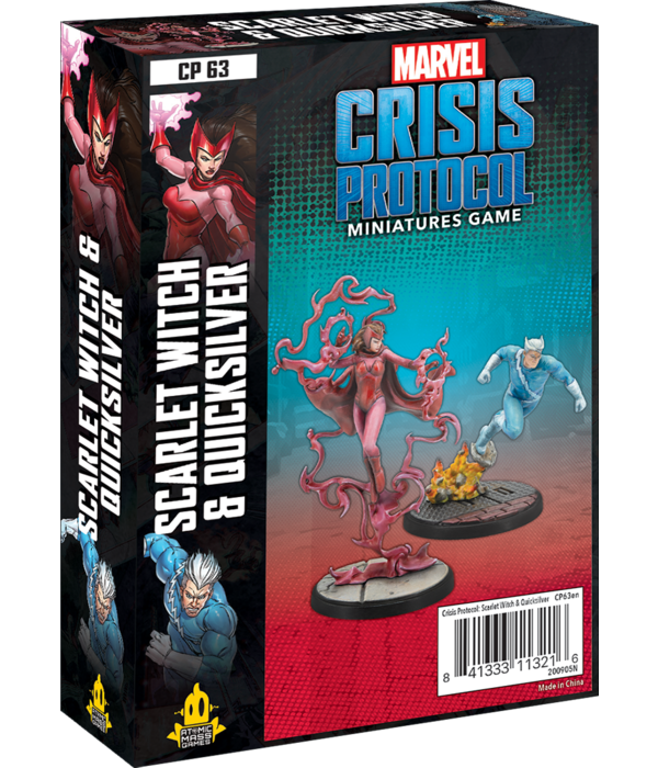 Marvel Crisis Protocol Scarlet Witch and Quicksilver