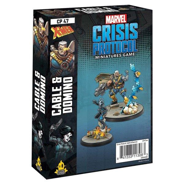 Marvel Crisis Protocol Domino and Cable Character Pack
