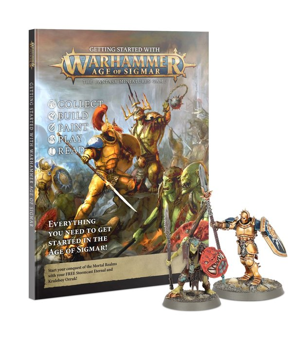 GETTING STARTED WITH AGE OF SIGMAR 2021