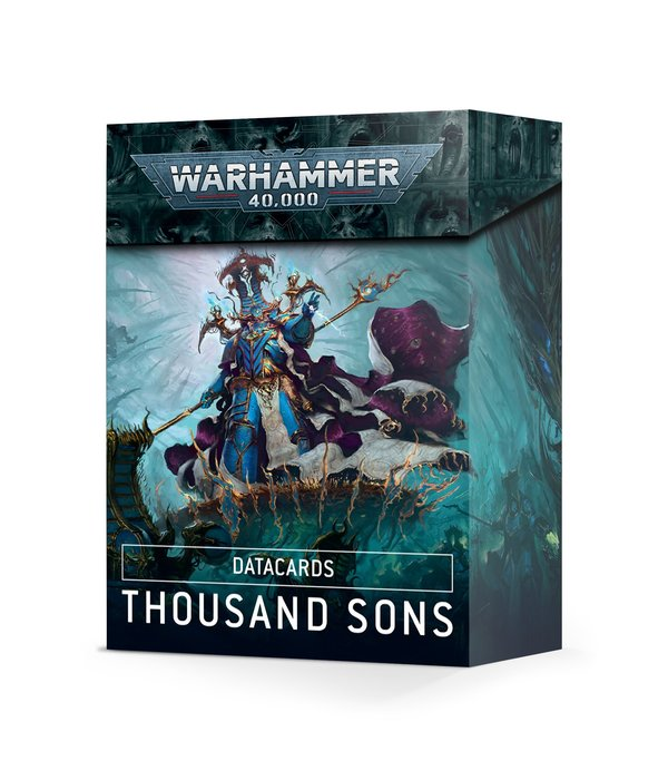 DATACARDS THOUSAND SONS 2021