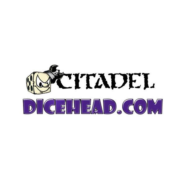 CITADEL GW 12MM DICE CUBE - BLACK (20)