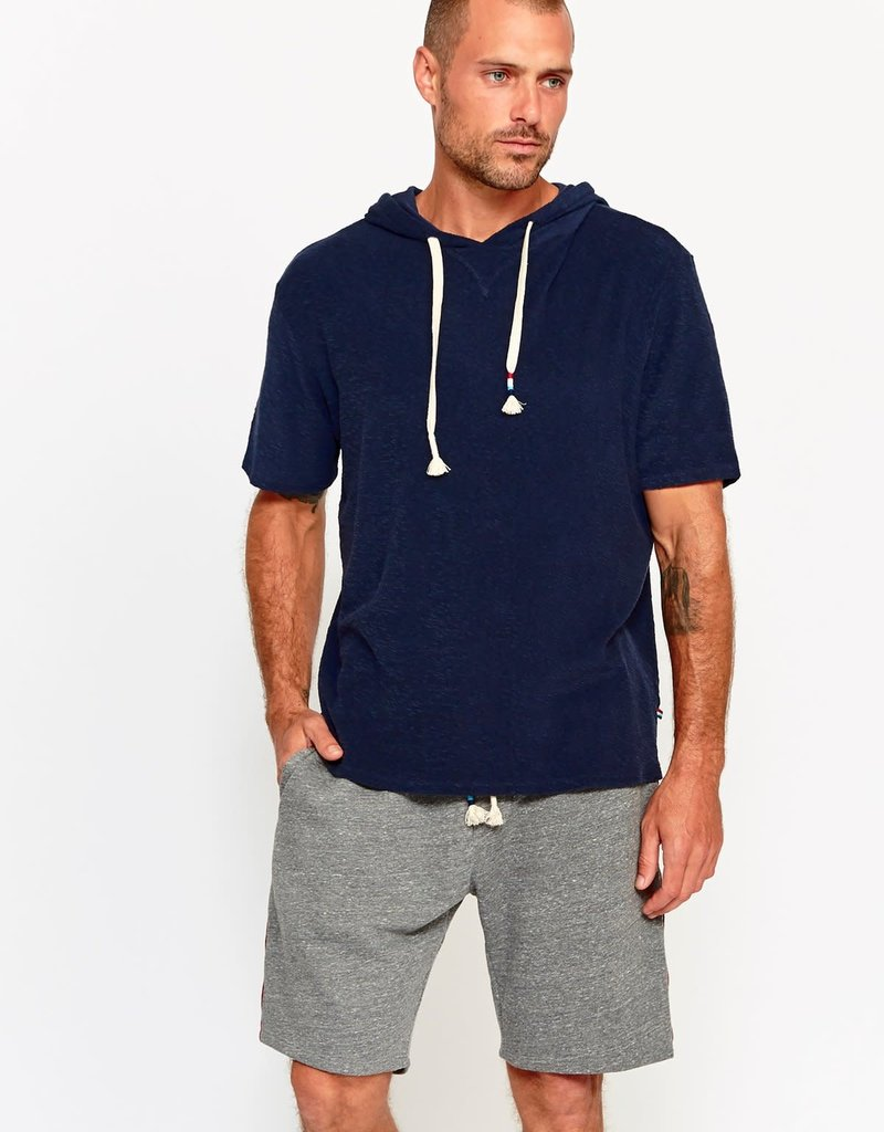 Sol Angeles Sol Angeles Loop Terry Short Sleeve Hoodie Pullover