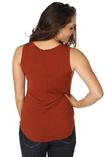 Brokedown Thelma Draped Tank
