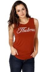 Brokedown Thelma Draped Tank
