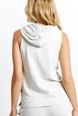Sol Angeles Sol Angeles Speckled French Terry Sleeveless Hoodie