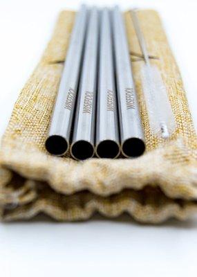 WiseFool WiseFool Metal Straws