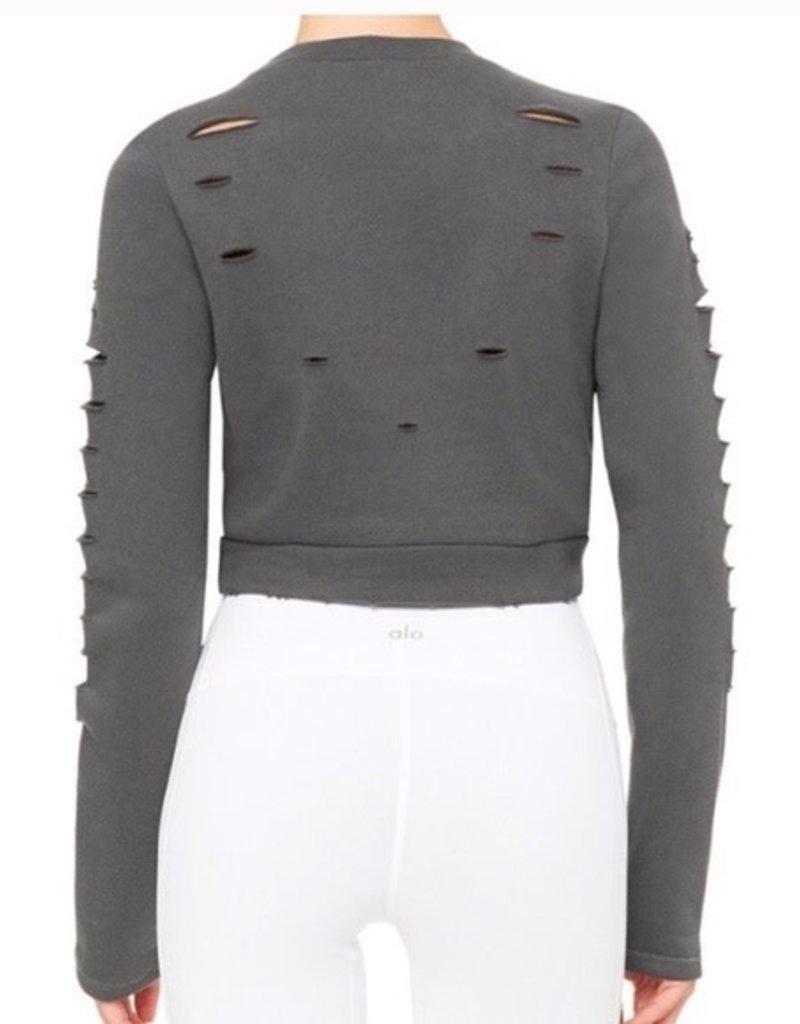 Alo Alo Ripped Warrior Sweatshirt